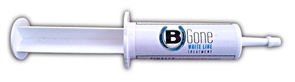 B Gone White Line Treatment comes in an easy to use tube